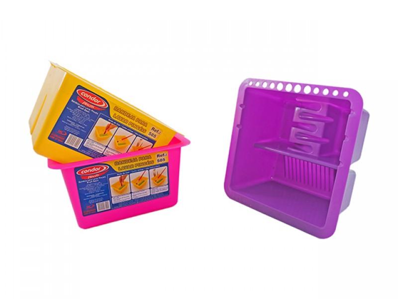 Infantozzi materiales bandeja pl stica limpiar y apoyar - Limpiar pintura plastica ...