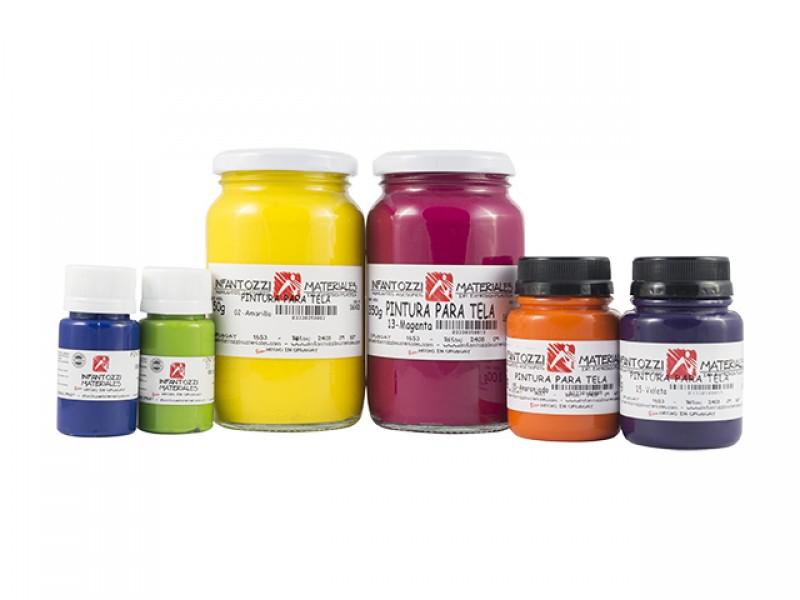 Infantozzi materiales pintura para tela - Tipos de pintura para pared ...