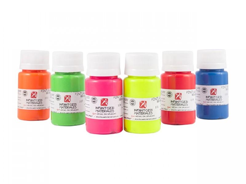 Infantozzi Materiales Pintura Para Tela Fluo